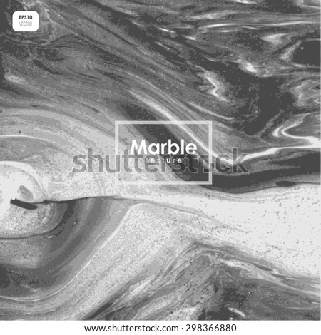 natural stone texture, vector marble texture, black and white abstract background