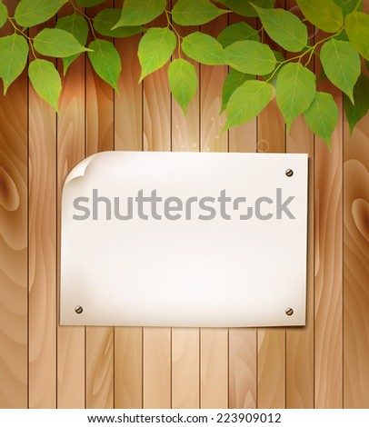 natural wooden background with