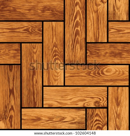 Naturalistic seamless texture - wooden parquet