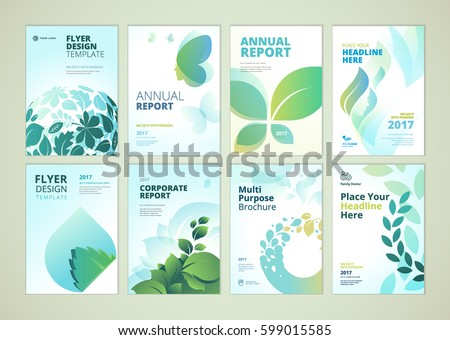 nature and healthcare brochure
