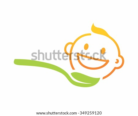 nature baby food spoon love