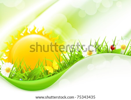 Nature Background, horizontal 10eps