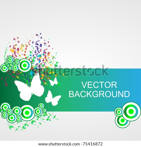 Nature background - vector