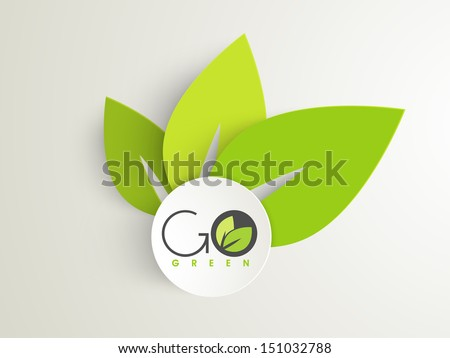 nature concept with green