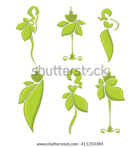 nature fashion  vector