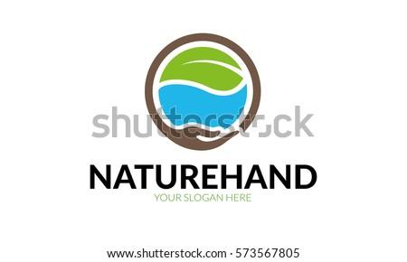 Nature Hand Logo