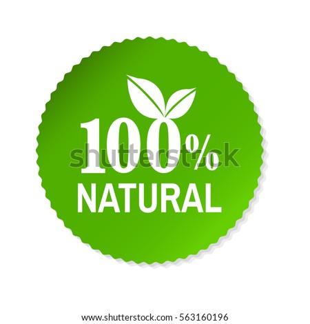 Nature Label, Vector Illustration #563160196