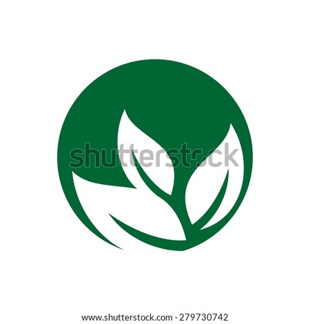 nature leaf botany ecology logo