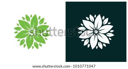 nature leaf logo, environment logo , ecology logo template designs