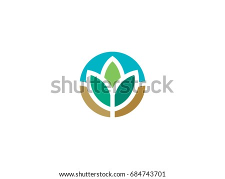 nature leaf vector icon