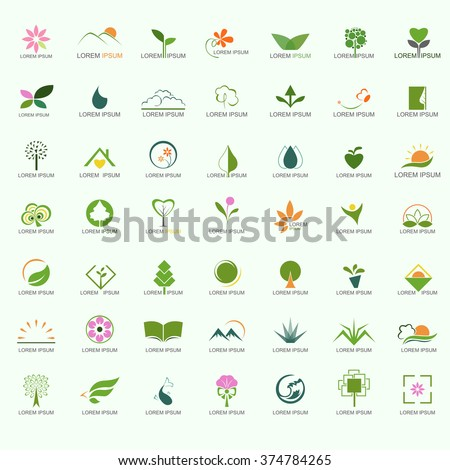Nature Logo Set