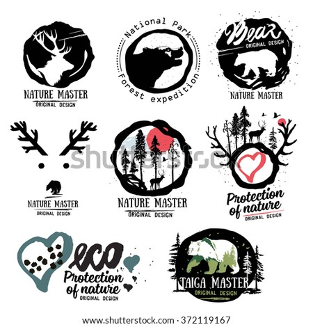 nature logo wild beasts of the