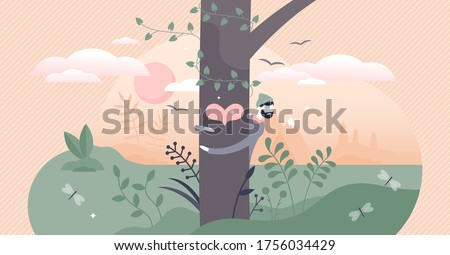 nature lover vector