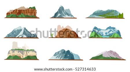 nature mountain silhouette...