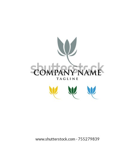 NATURE NATURAL VECTOR LOGO
