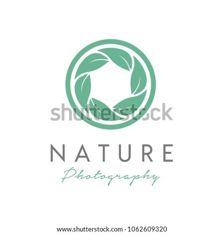 nature photographer logo design