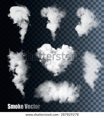 nature smoke vectors on