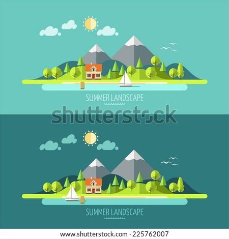 nature   summer landscape