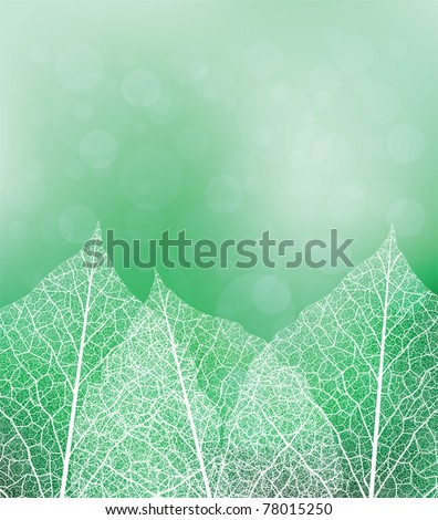 nature theme vector background