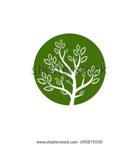 nature tree vector logo