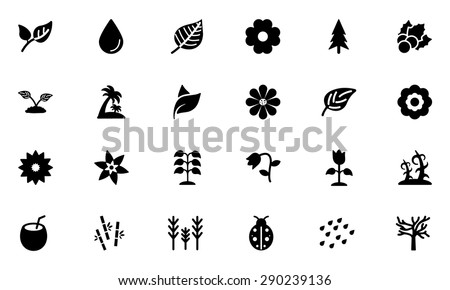 Nature Vector Icons 2