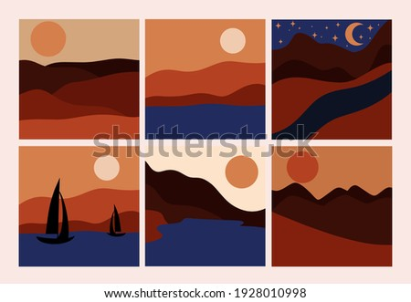 nature view  mountains  river