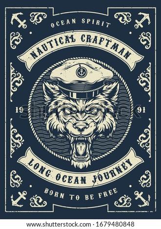 nautical and marine vintage