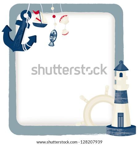 Nautical background image nautical background stock