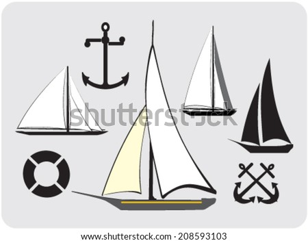 nautical symbols download free vector art stock graphics images