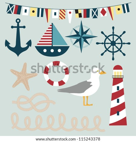 Nautical vector images
