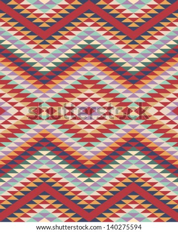 Navajo Tribal Pattern Seamless