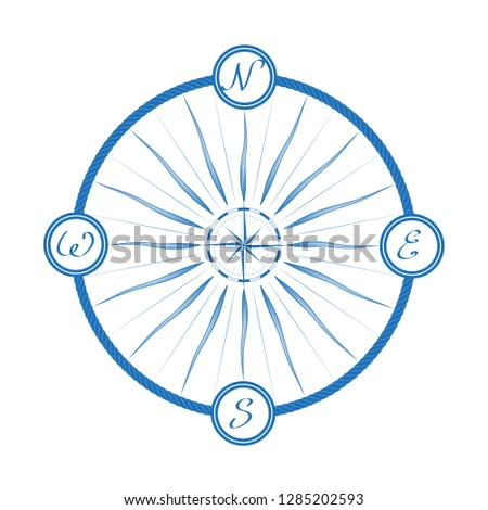 navigation marine compass in