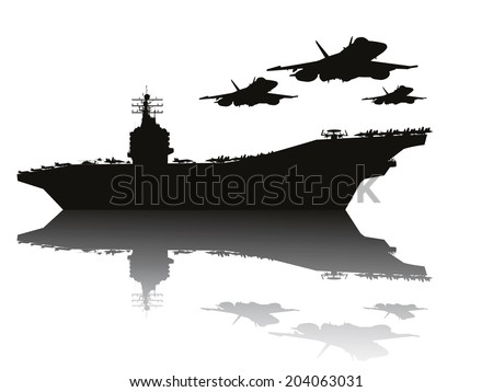 navy power  aircraft carrier