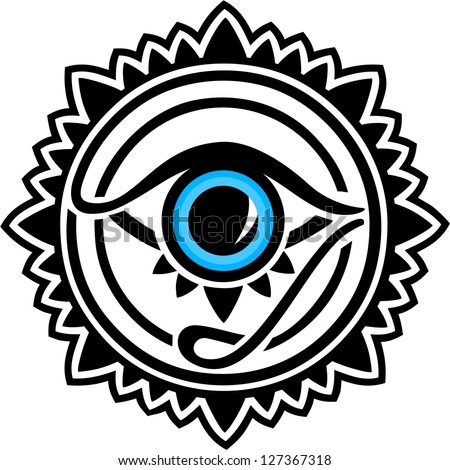 Egyptian All Seeing Eye Drawing Image Of Pictures On