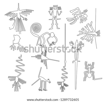 nazca lines creatures from