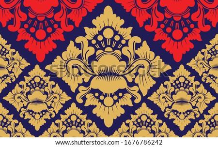 ndonesian batik  the style of