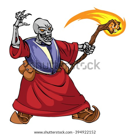 necromancer wizard