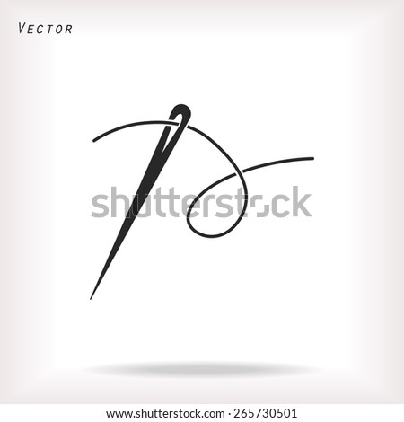 needle icon vector  eps 10