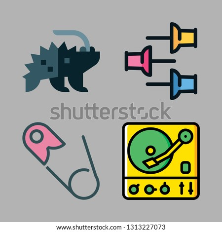 needle icons set. vector set about [ iconsRandom] icons set.
