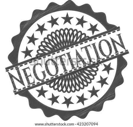 Negotiation penciled