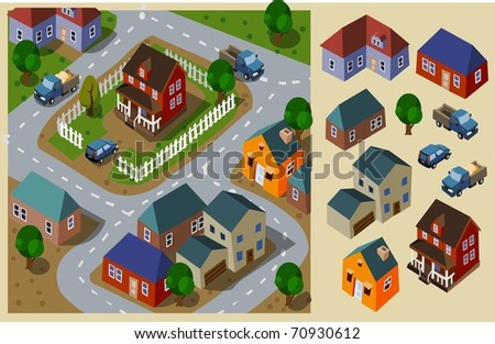 neighborhood isometric set of