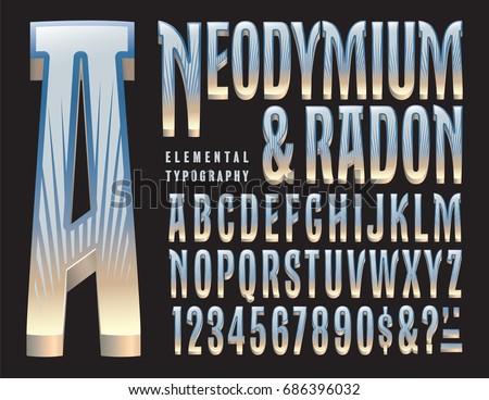3D Fonts Vector - Download Free Vectors, Clipart Graphics