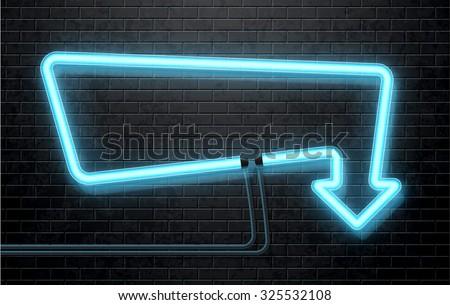 neon arrow