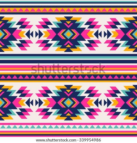 neon color tribal navajo...