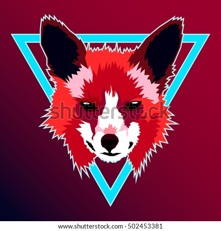neon fox wallpaper - photo #27