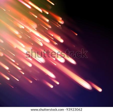 Neon Light Rays