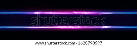 neon lines frame  border neon
