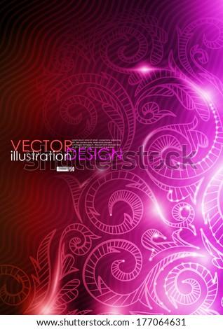 stock-vector-neon-pattern-background-vector-illustration