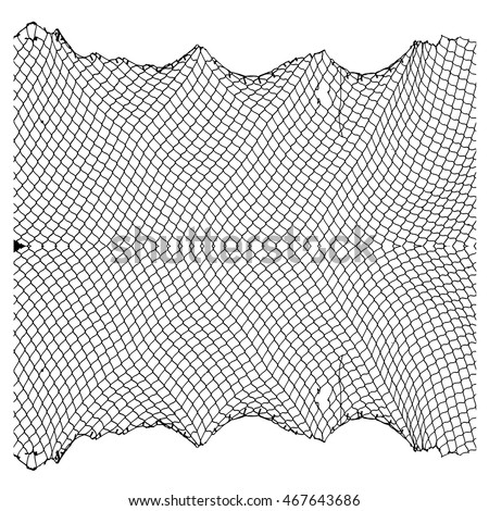 net pattern. rope net vector...