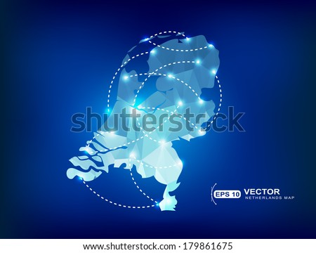 Free Netherlands Map - Download Free Vector Art, Stock Graphics & Images